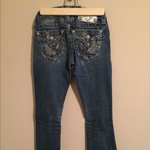 Distressed Miss Me Jeans